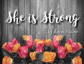 Mom she is strong